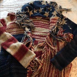 Ralph Lauren American knit cardigan, barely worn
